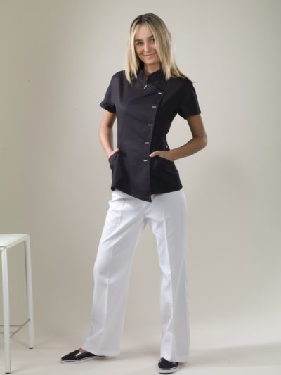 Java - Black Spa Uniform Top