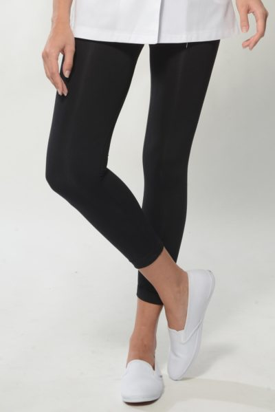 Healthy Leggings - Black Spa Uniform Pants